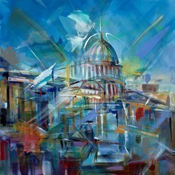 From Above by Marijus Jusionis -  sized 32x32 inches. Available from Whitewall Galleries